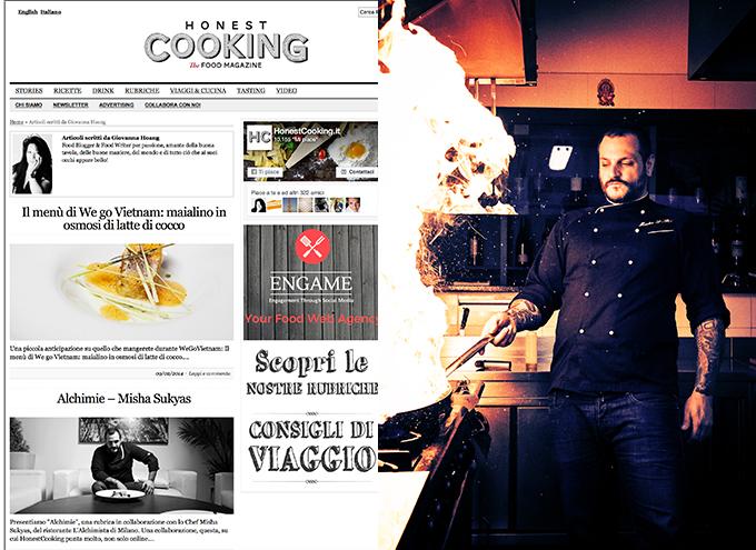 Honest Cooking.it (Articoli + Foto)