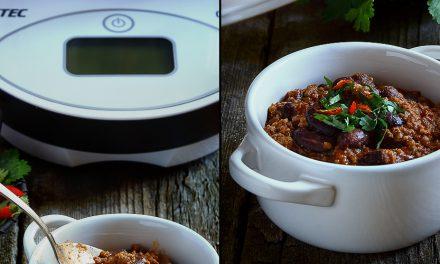 Fatto con Cukò: chili di carne e fagioli rossi