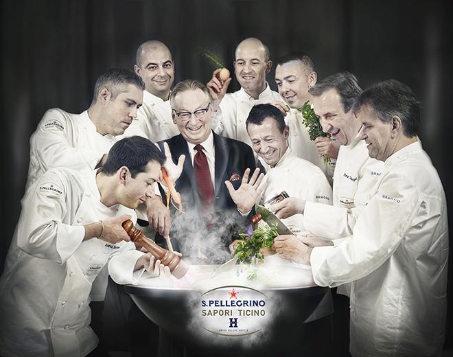 S.Pellegrino Sapori Ticino-chef