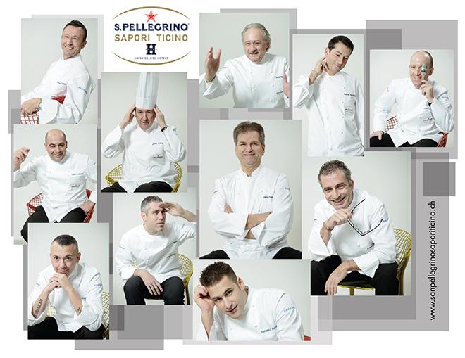 San Pellegrino Sapori Ticino-chef 2014