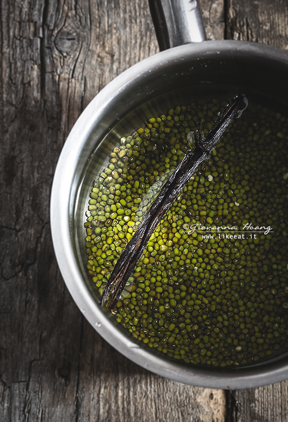 Fagioli di soia verde e vaniglia