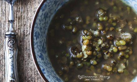 Zuppa dolce di fagioli mung