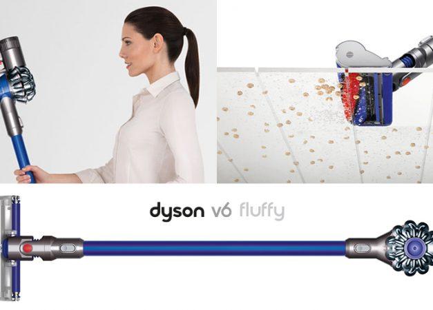 Dyson V6 Fluffy ti semplifica la vita