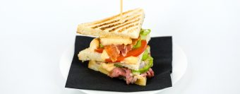 Joe Bastianich duck club sandwich