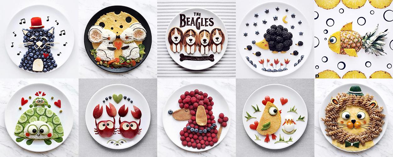 Baby food art: piatti super divertenti per cibi extra golosi