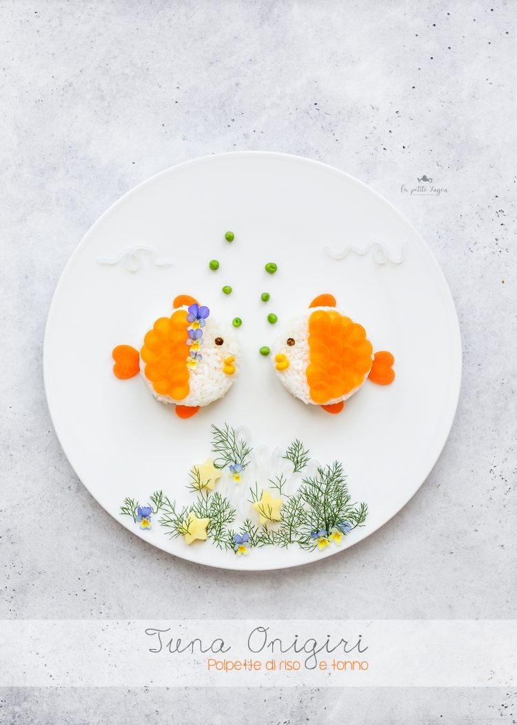 onigiri di tonno - polpette di riso - funny food