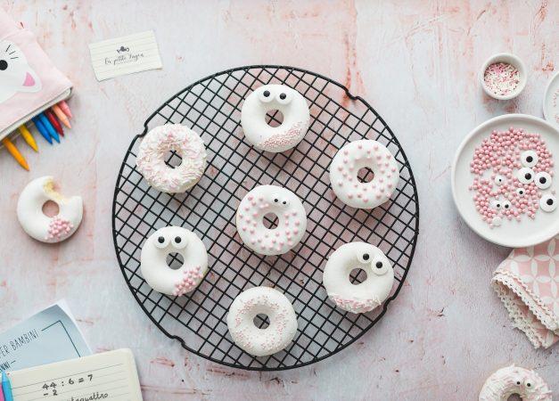 Donuts al limone e olio extravergine di oliva