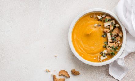 Crema di carote allo zenzero e miso