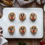 Mini sandwich al salame – Rudolph la renna