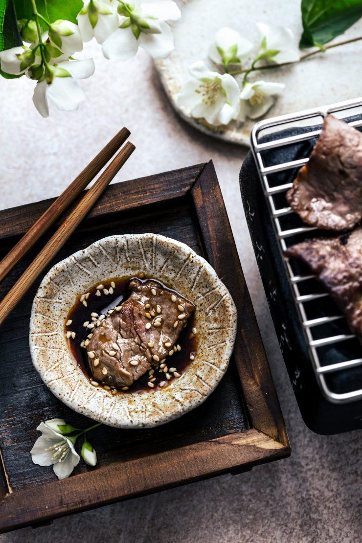 salsa yakiniku per bbq giapponese