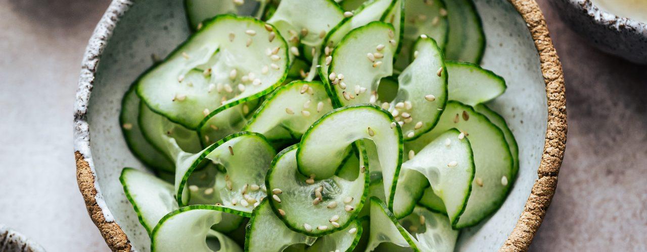 insalata di cetrili giapponese sunomono