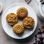 Dolcetti della luna ripieni di fichi e mandorle – mooncake